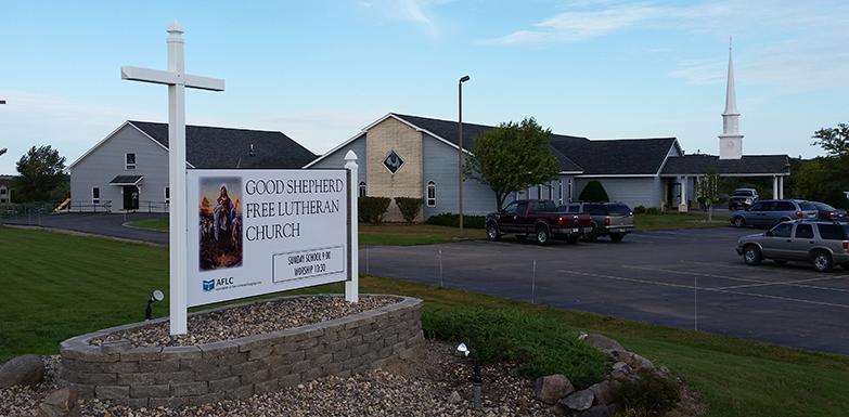 Good Shepherd Free Lutheran Church in Cokato, MN